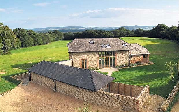 Barn storming holiday accommodation in Kent and Sussex